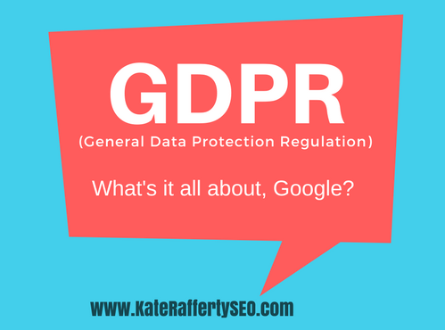 GDPR what's it all about Google