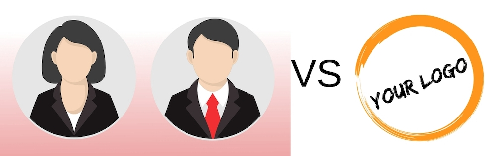 social media profile photo vs your logo
